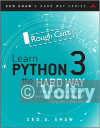 Learn Python 3 the Hard Way - Rough Cuts