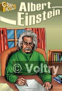 Albert Einstein, Graphic Biography (Saddleback Graphic Biographies)