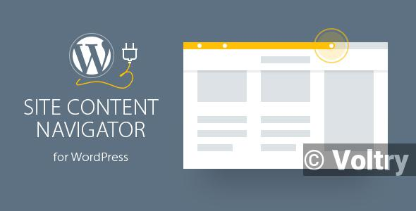 Free Site Content Navigator For WordPress Nulled