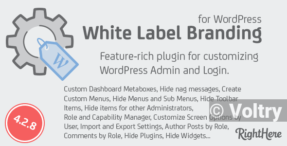 Free White Label Branding for WordPress Nulled