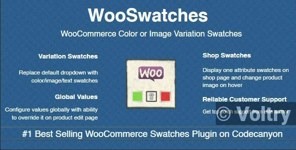 Free WooSwatches - WooCommerce Color or Image Variation Swatches Nulled