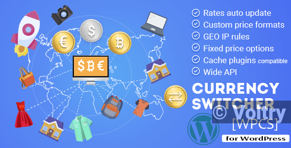 Free WPCS - WordPress Currency Switcher Nulled