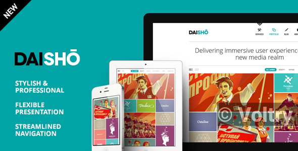 Free Daisho - Flexible WordPress Portfolio Theme Nulled
