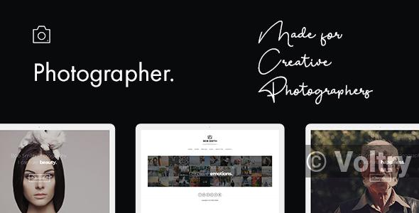 Free Photographer WordPress Theme Nulled