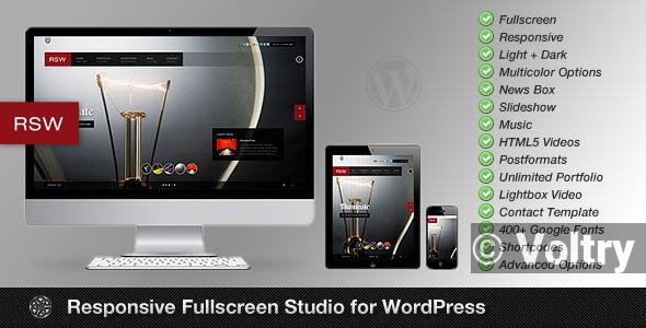 Free Rsw | Photography Theme for WordPress Nulled