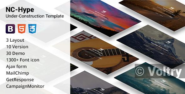 Free NC-Hype Under-Construction Template Nulled