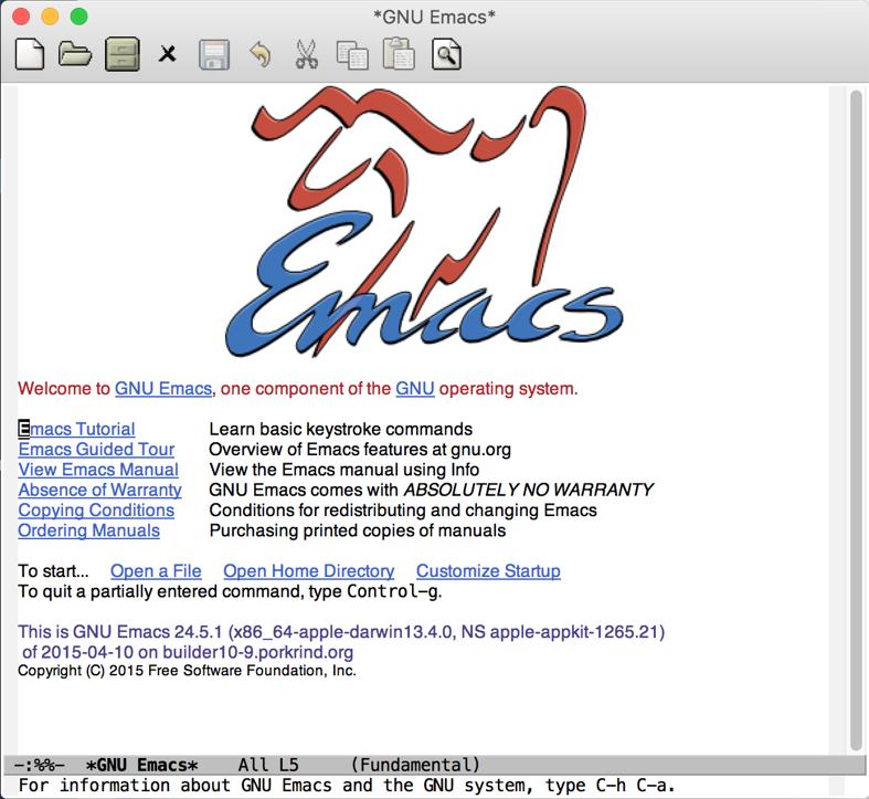Emacs load file