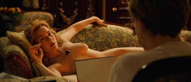 Kate winslet titanic naked scene