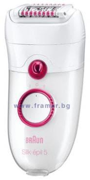 Braun silk-epil 5185 epilator pink