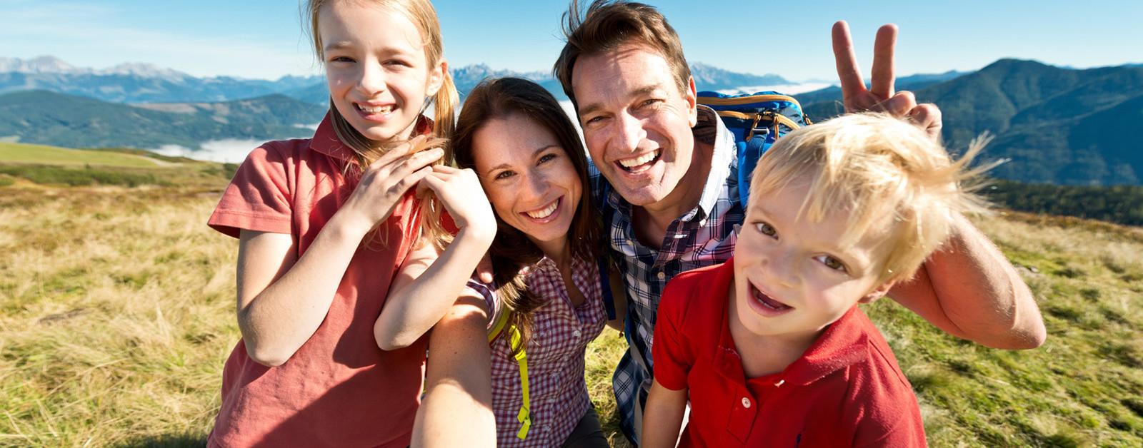 Семейный отпуск австрия