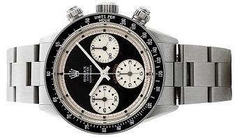 Paul Newman Rolex Daytona : Senarai 10 Buah Jam Tangan Jenama Rolex Termahal di Dunia