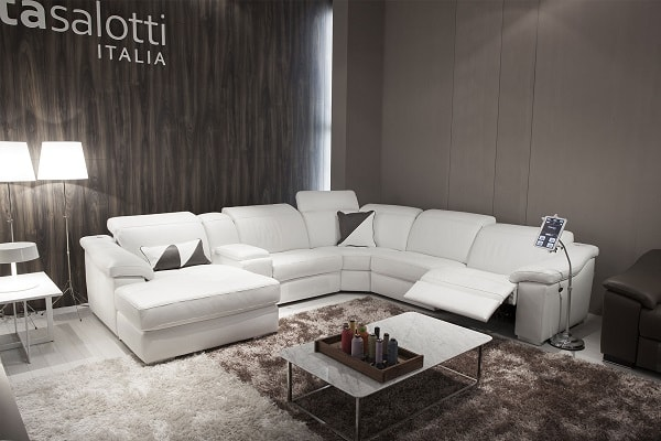 Fabio Leather Cinema Sofa