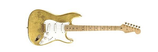 Gold Leaf Strat, Eric Clapton