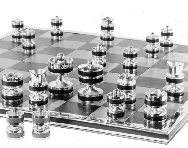 Silver Jubilee Chess Set