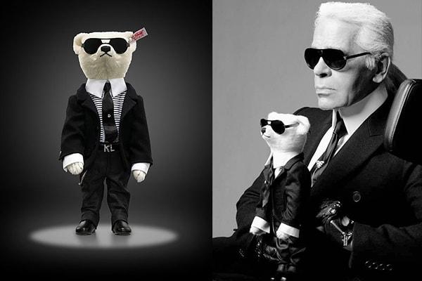 Steiff-Karl Lagerfeld Teddy Bear