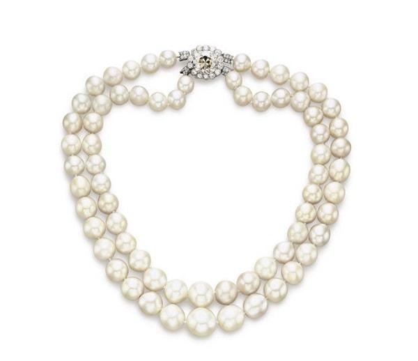 The Baroda Pearl Necklace