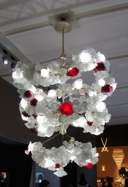 Daum Crystal Chandelier