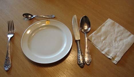 Hitler and Eva Braun's Silverware Cutlery Set