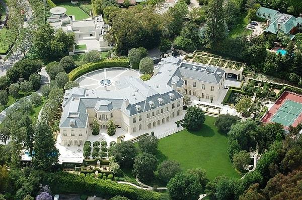 Aaron Spelling's gargantuan LA Manor