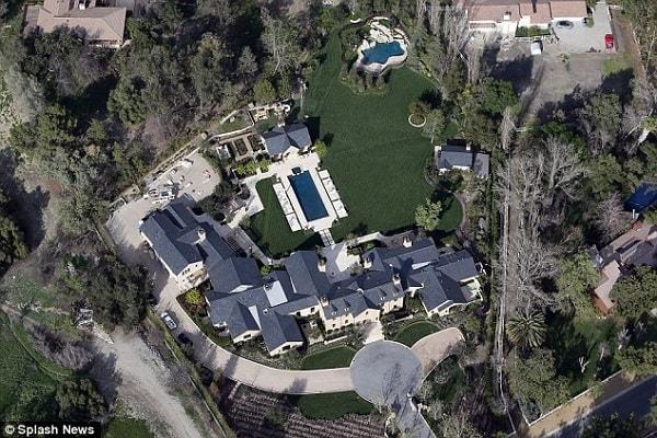 Kim & Kanye's Hidden Hills project