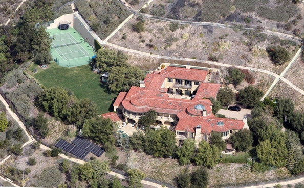 Arnold Schwarzenegger's Brentwood Compound