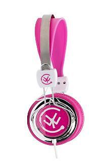 Urbanz zipcpk zip multi-device stereo headphone - pink