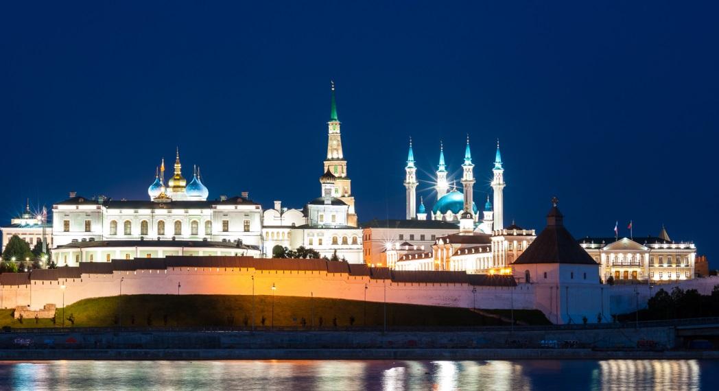 Из чего состоит казанский кремль