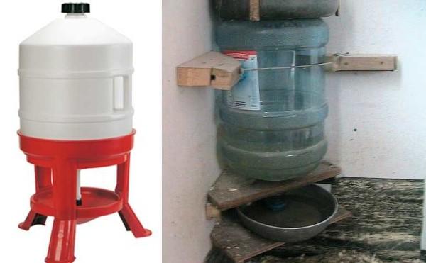 Сифонные поилки - заводская и самодельная из пластиковойго бутыля