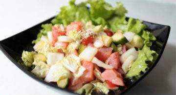 Салат с пекинской капустой рецепт диетический