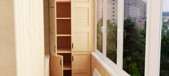 Построить шкаф на балконе