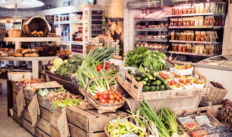 о продуктах и магазинах