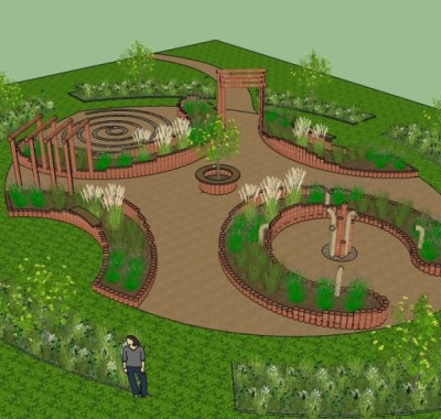 Brooksbury sensory garden designs with nature for Sensory garden designs