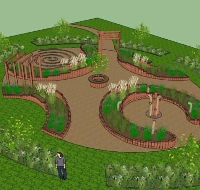 Brooksbury sensory garden designs with nature for Home design 3d outdoor garden 4 0 8