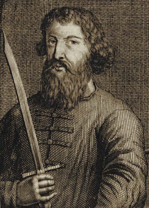 Арчил II, гравюра из старинной книги. wikimedia