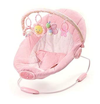 Pretty in pink bright starts bouncer
