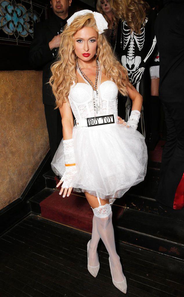 Halloween costume madonna