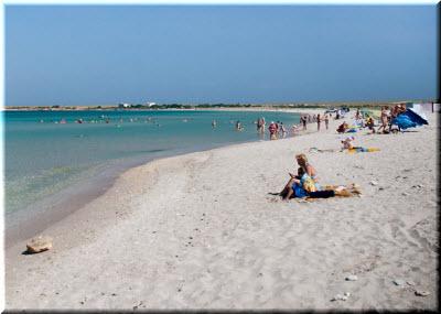 пляжи на Тарханкуте