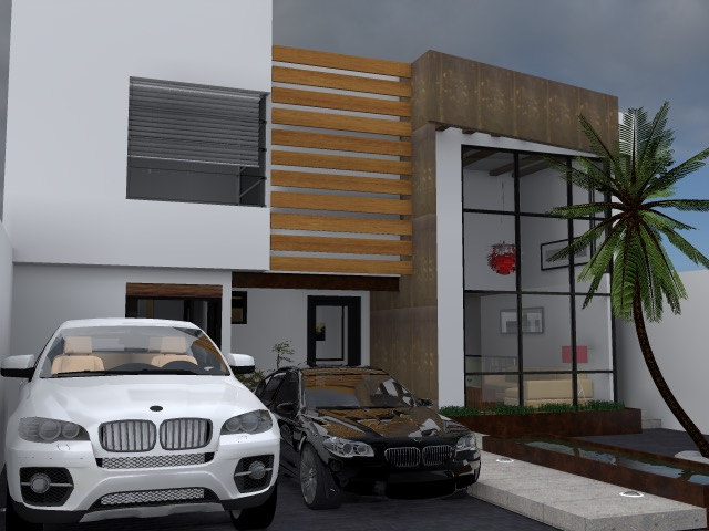 Dise o de casas modernas fachadas y planos en monterrey for Disenos arquitectonicos de casas modernas