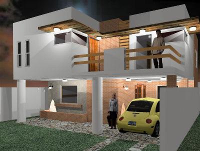 Dise o arquitect nico de casas habitaci n en monterrey for Diseno de fachadas minimalistas