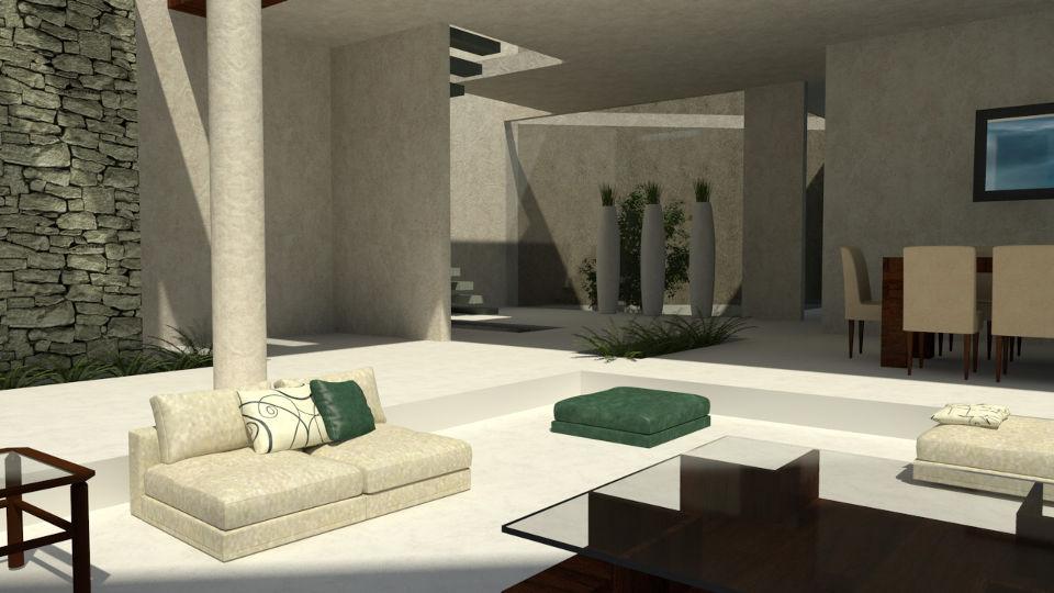 Interior de casas minimalistas v rias - Casa minimalista interior ...