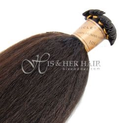 Cuticle®  - Handtied Weft Kinky Straight