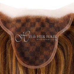Part Lace - Natural Perm Straight - German lace