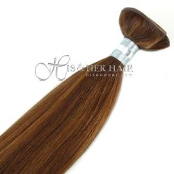 50% Italian Mink® - Machine Weft Natural Perm Straight