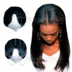 U-Shape Fall Natural Perm Straight