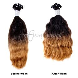 50% Italian Mink®  - Handtied Weft French Refined - SALE