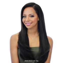AMBER - NATURAL PERM STRAIGHT SWISS LACE