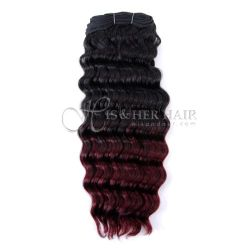 50% Italian Mink® - Machine Weft Water Wave Ombre