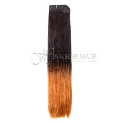Cuticle®  - Machine Weft Natural Perm Straight Ombre