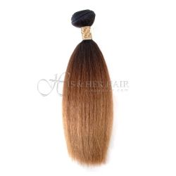 Cuticle®  - Machine Weft Kinky Straight Ombre - SALE