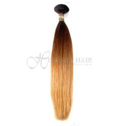 Cuticle®  - Machine Weft Natural Perm Straight Ombre - SALE